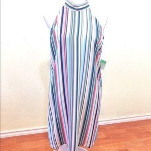 Decree Striped Sleeveless Dress